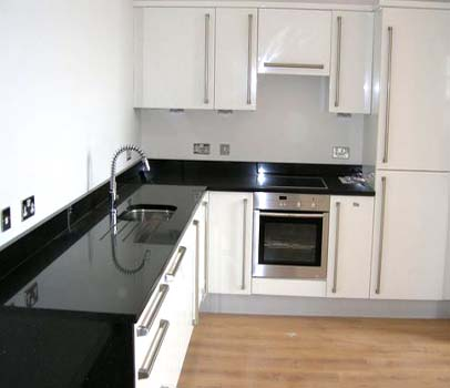 Indian Absolute Black Granite Worktops
